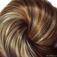 Тонирование волос 3 цветами