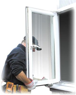 Регулировка створки пвх окна простая от компании евростиль к.