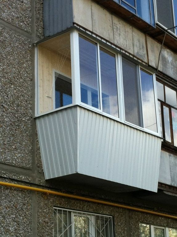 Теплое остекление балкона система provedal, раздвижные створ.