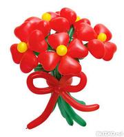 Заказать букет воздушных шаров в омске купить цветы в коврове