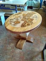 Оригинальные столы из дерева ручной работы Идеи для 26