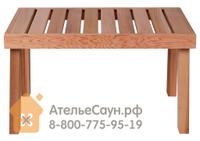 Скамейка для сауны Sawo 522-D (кедр)